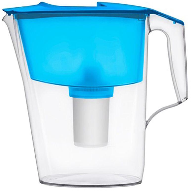 """Фото Фильтр-кувшин для воды Аквафор """"Стандарт"""", цвет: голубой, прозрачный, 2,5 л. Купить  в РФ"""