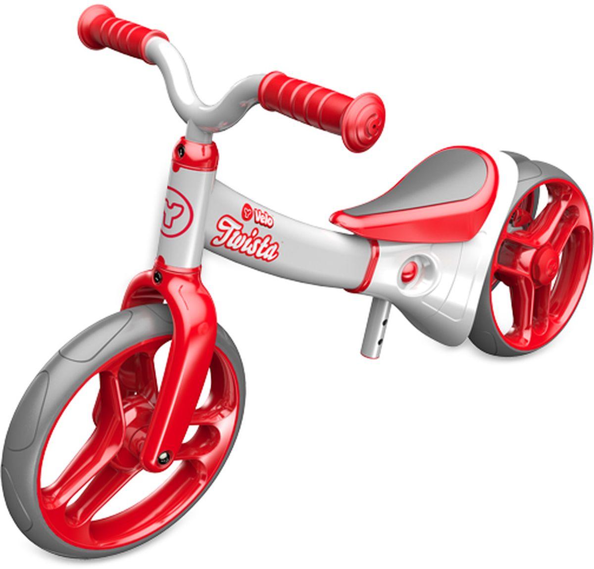 Y-Volution Беговел двухколесный Velo Twista с двойным регулируемым колесом -  Беговелы