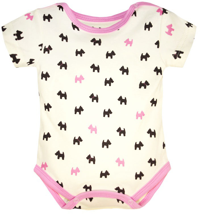 Фото Комбинезон домашний для девочки КотМарКот, цвет: молочный, темно-коричневый, розовый. 9213. Размер 86. Купить  в РФ