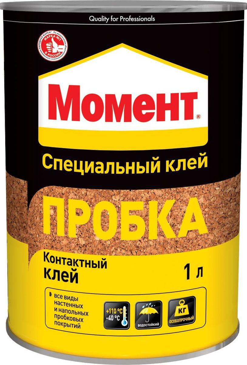Клей Момент  Пробка , 1 л -  Клей