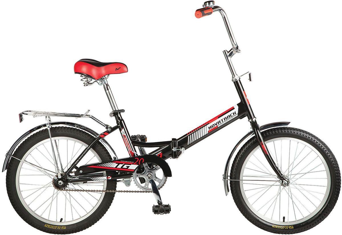 Велосипед детский Novatrack  TG-30 Classic , цвет: черный, белый, красный, 20
