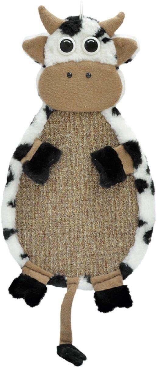 Когтеточка Зооник  Коровка , подвесная, 53 х 29 х 3 см. 22373