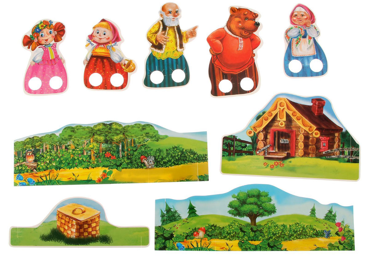 Бумажный кукольный театр своими руками 87