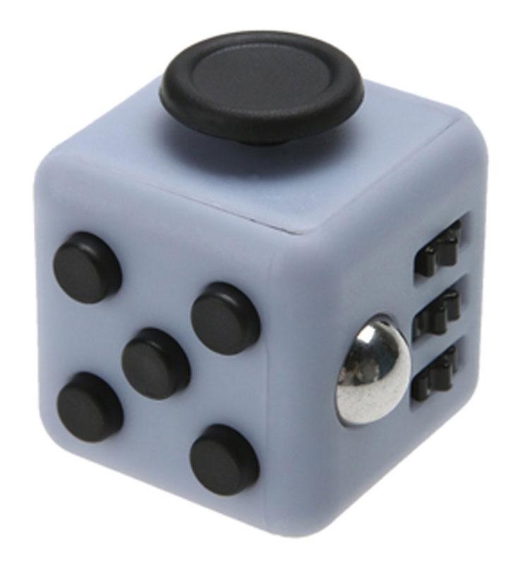 Фото Fidget Cube Игрушка-антистресс Light цвет серый черный. Купить  в РФ