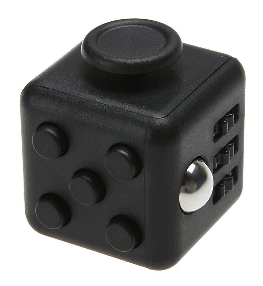 Фото Fidget Cube Игрушка-антистресс Light цвет черный. Купить  в РФ