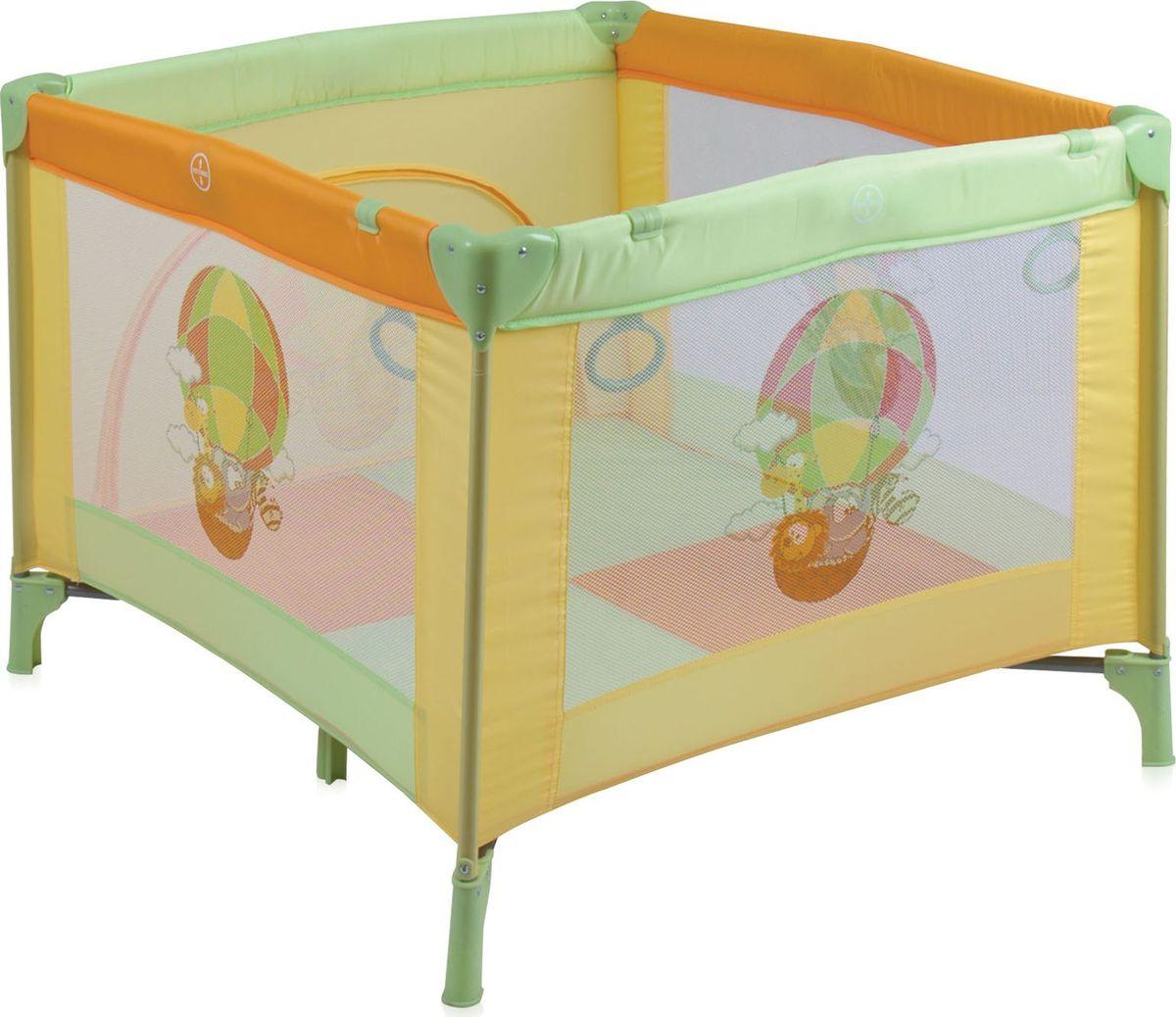 Lorelli Манеж Play Station цвет желтый салатовый -  Детская комната