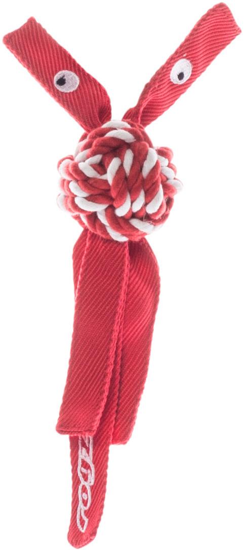 Игрушка для собак Rogz  CowBoyz , цвет: красный, 4,9 х 25 см