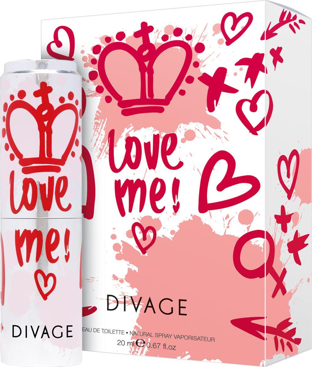 Фото Divage Туалетная Вода Love me 20 мл. Купить  в РФ