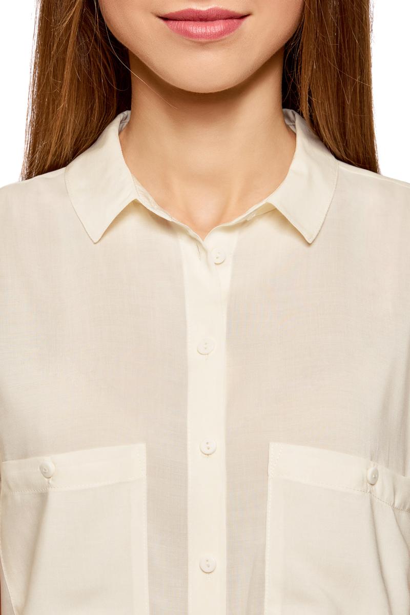 Блузка Кремовая Купить