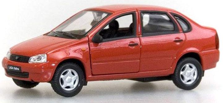 Фото Welly Модель автомобиля LADA Kalina. Купить  в РФ