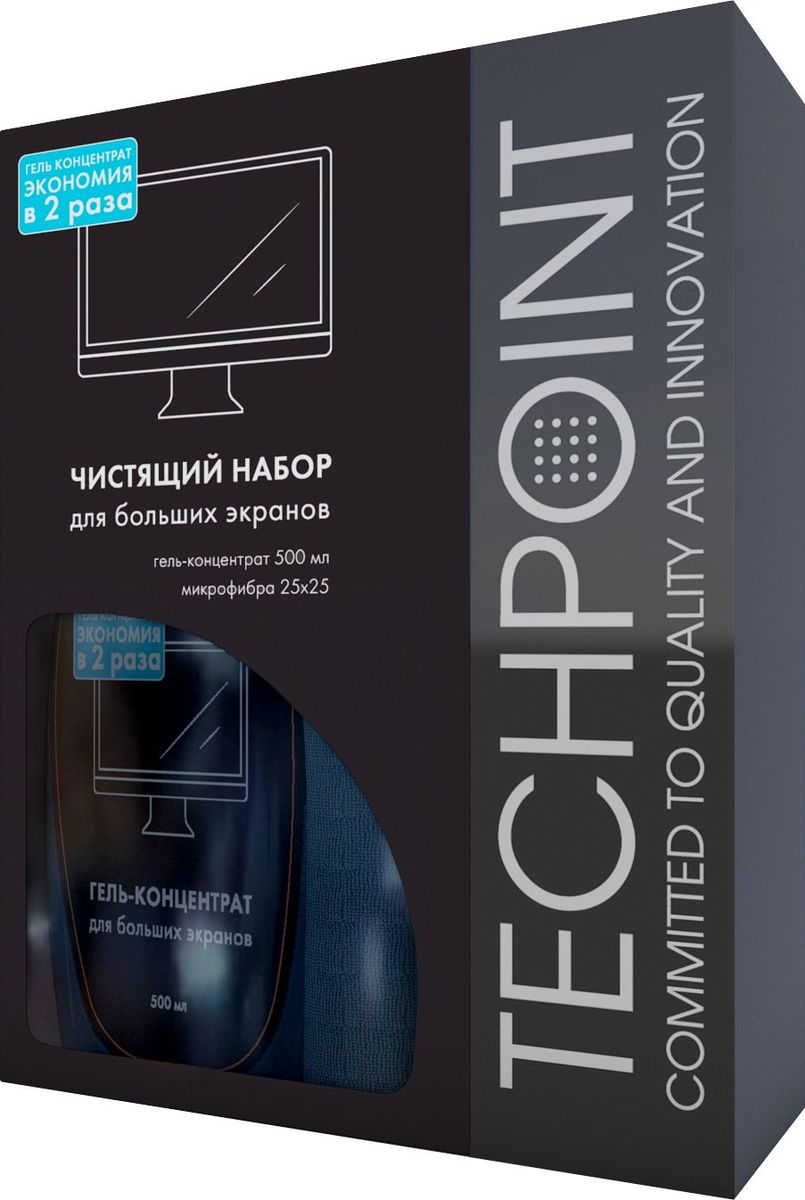 Набор для ухода за большими экранами Techpoint  Large Screen Cleaning Set , 2 предмета