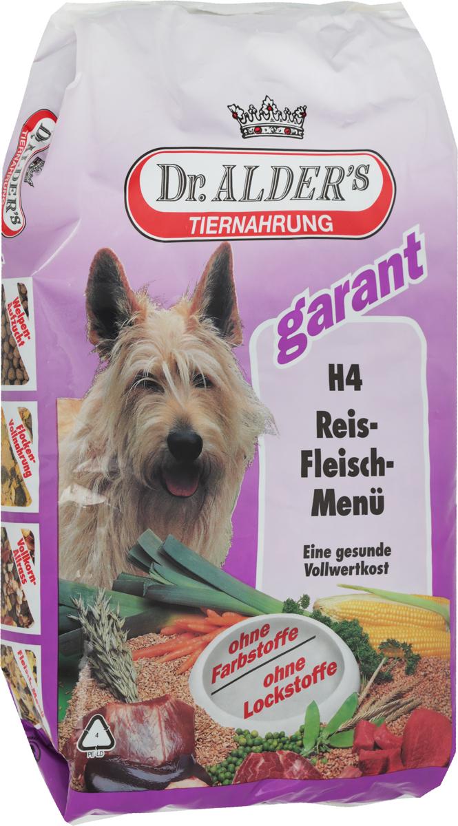 Корм сухой Dr. Alders  Н4. Рисо-Мясное меню  для взрослых собак, 5 кг