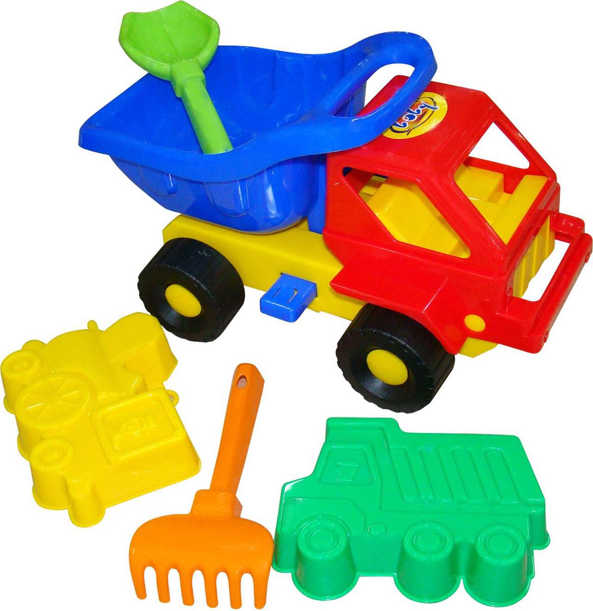 Фото Полесье Набор игрушек для песочницы №41 Кузя-2. Купить  в РФ