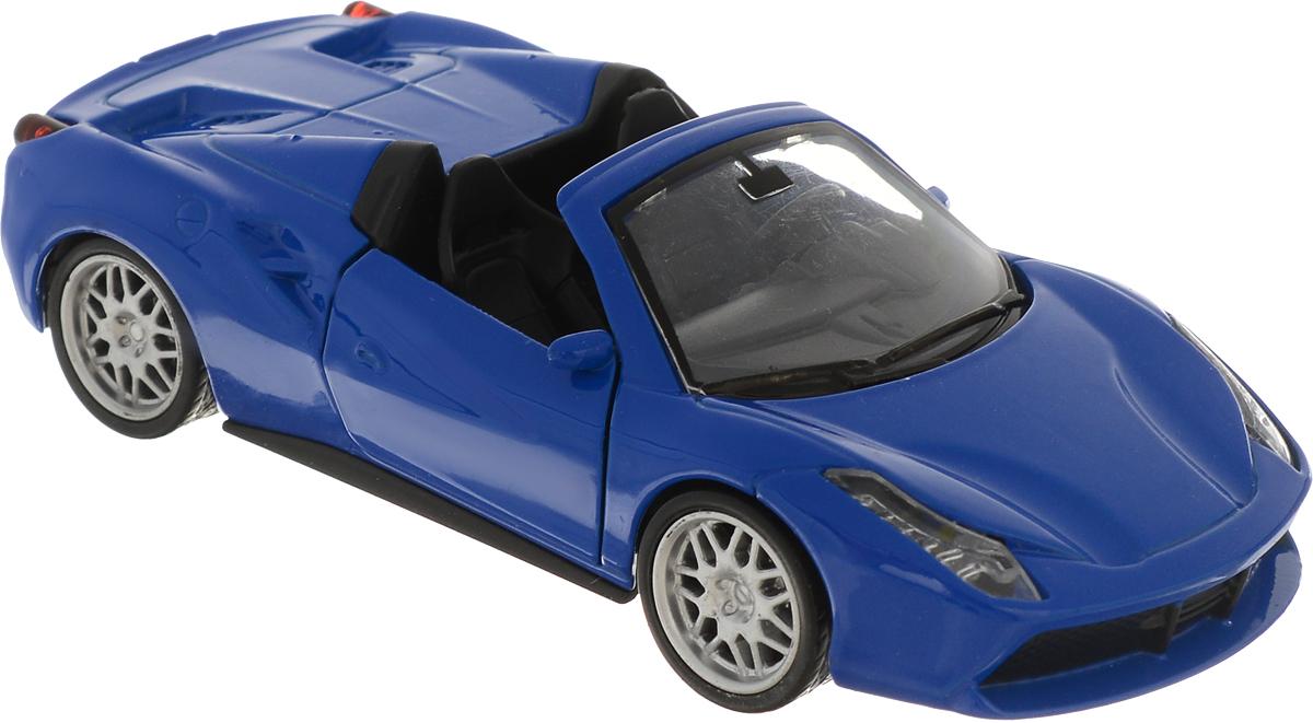 Фото ТехноПарк Машинка инерционная Lamborghini Gallardo LP 560-4 цвет синий. Купить  в РФ