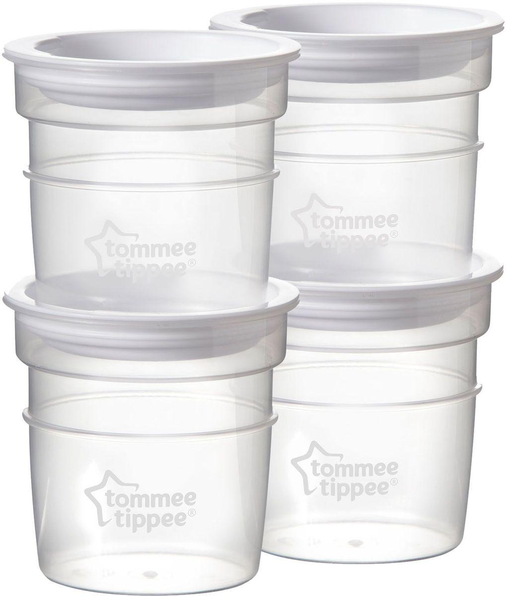 Tommee Tippee Контейнеры для молока 60 мл 4 шт -  Молокоотсосы