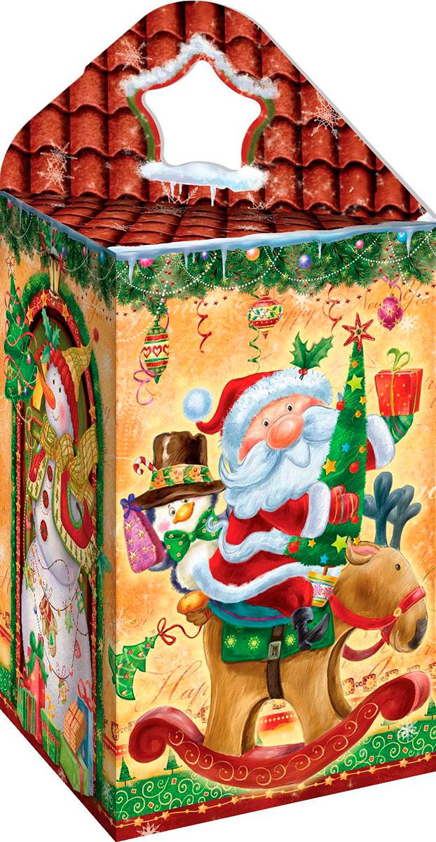 Коробка для новогодних подарков 25