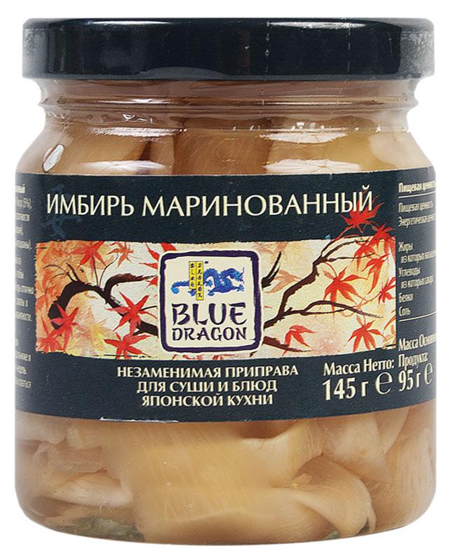 Фото Blue Dragon Имбирь маринованый, 145 г. Купить  в РФ