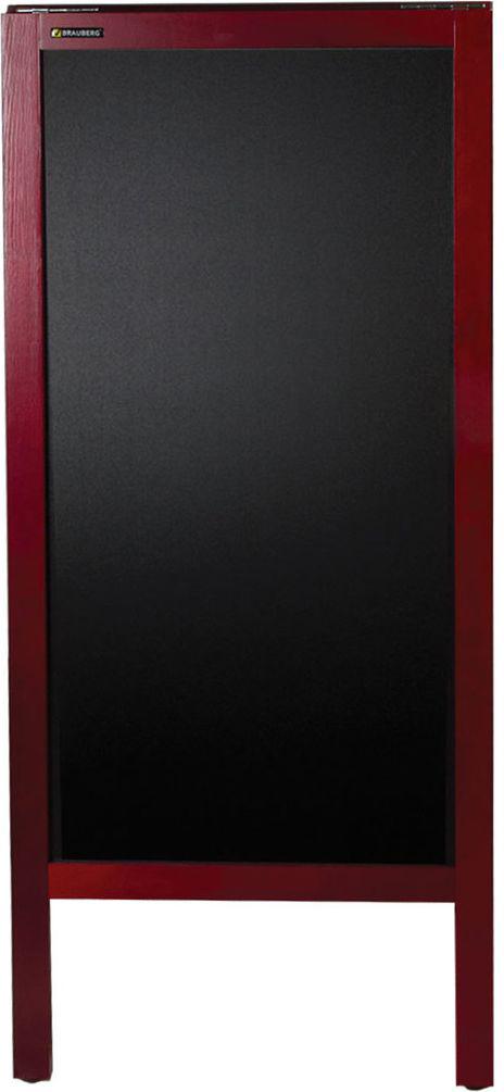 Brauberg Доска-штендер магнитно-маркерная и меловая 45 х 104 см 236155 -  Доски