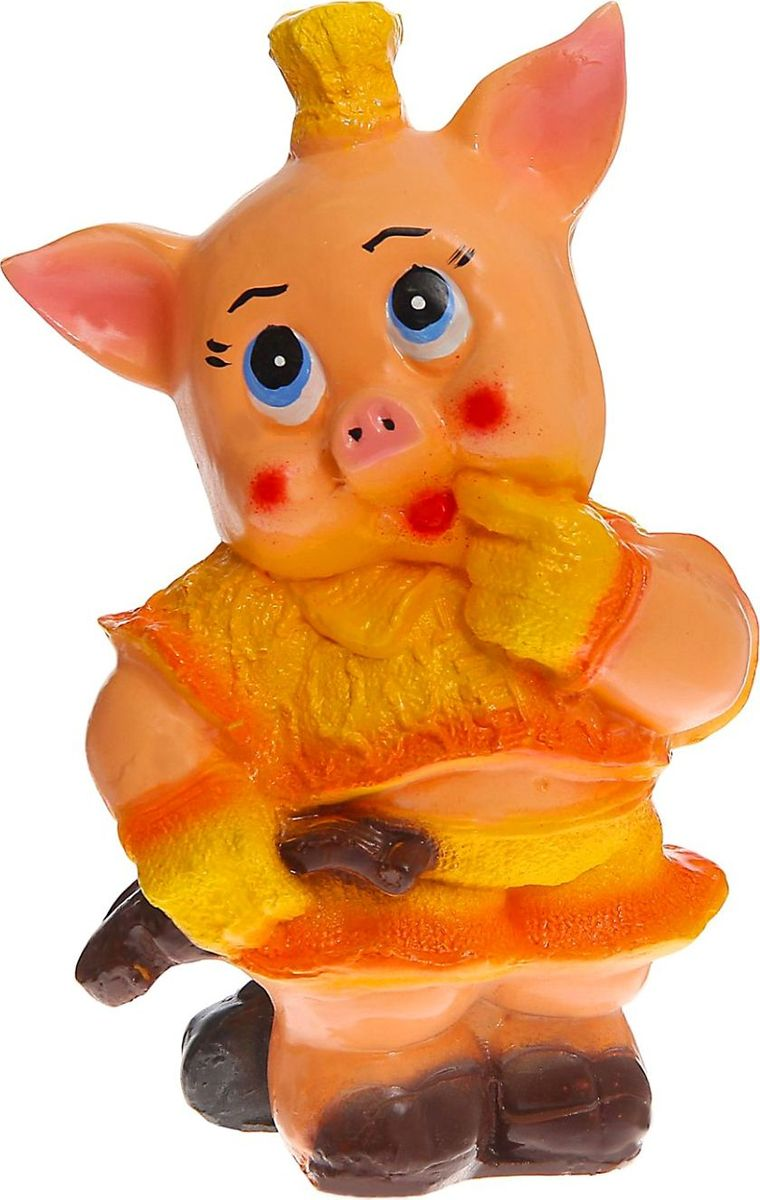 """Фото Копилка """"Свинка со скрипкой"""", 13 х 19 х 33 см. Купить  в РФ"""