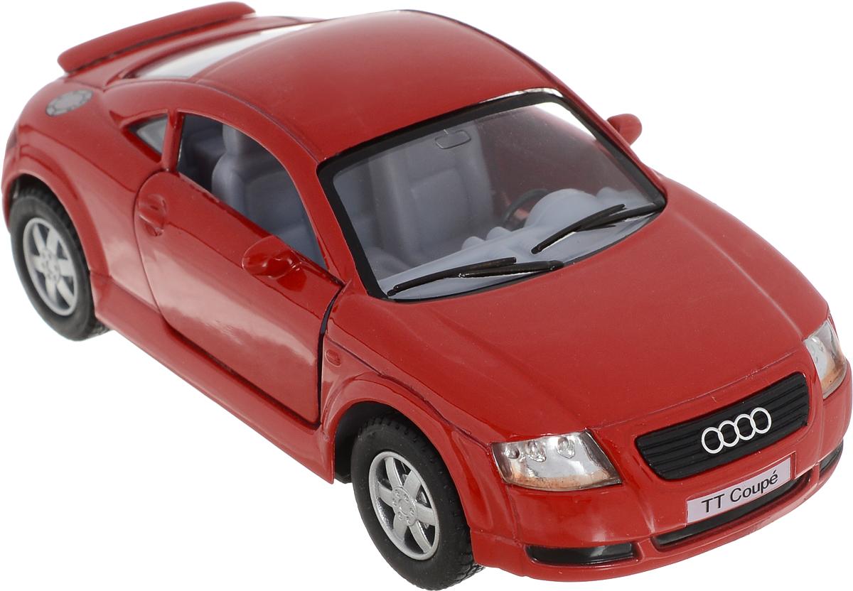 Фото Kinsmart Модель автомобиля Audi TT Coupe цвет красный. Купить  в РФ
