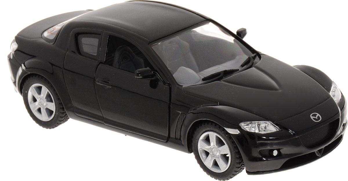 Фото Kinsmart Модель автомобиля Mazda RX-8 цвет черный. Купить  в РФ