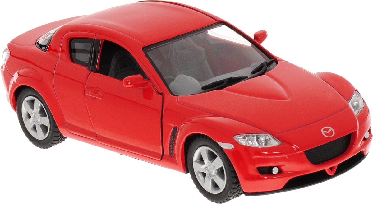 Фото Kinsmart Модель автомобиля Mazda RX-8 цвет красный. Купить  в РФ