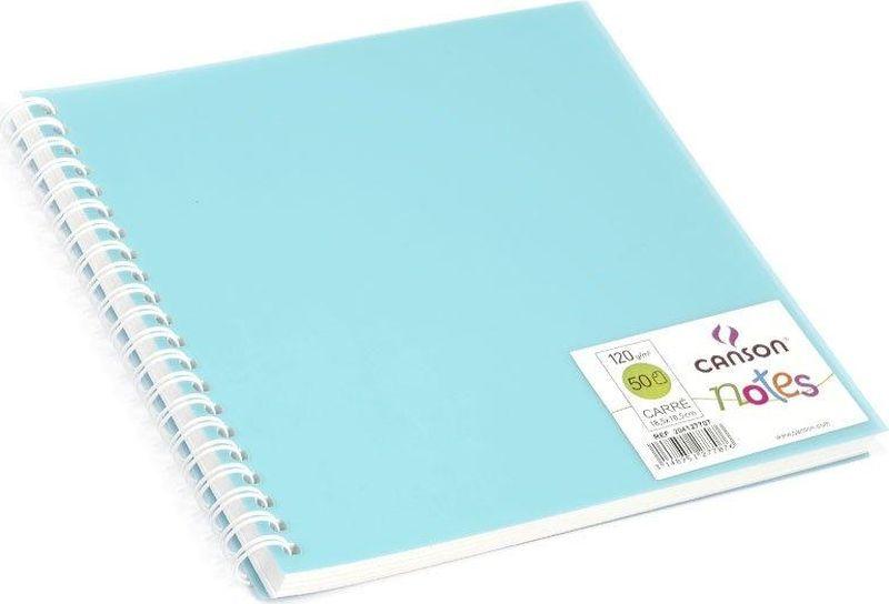 Фото Canson БлокнотдлязарисовокCansonNotesцвет голубой 50 листов 204127707. Купить  в РФ