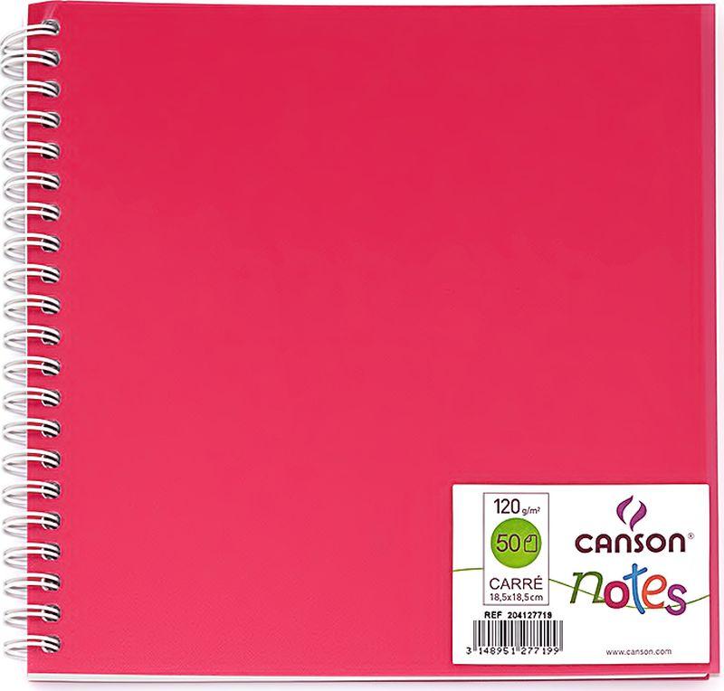 Фото Canson БлокнотдлязарисовокCansonNotesцвет розовый 50 листов 204127719. Купить  в РФ