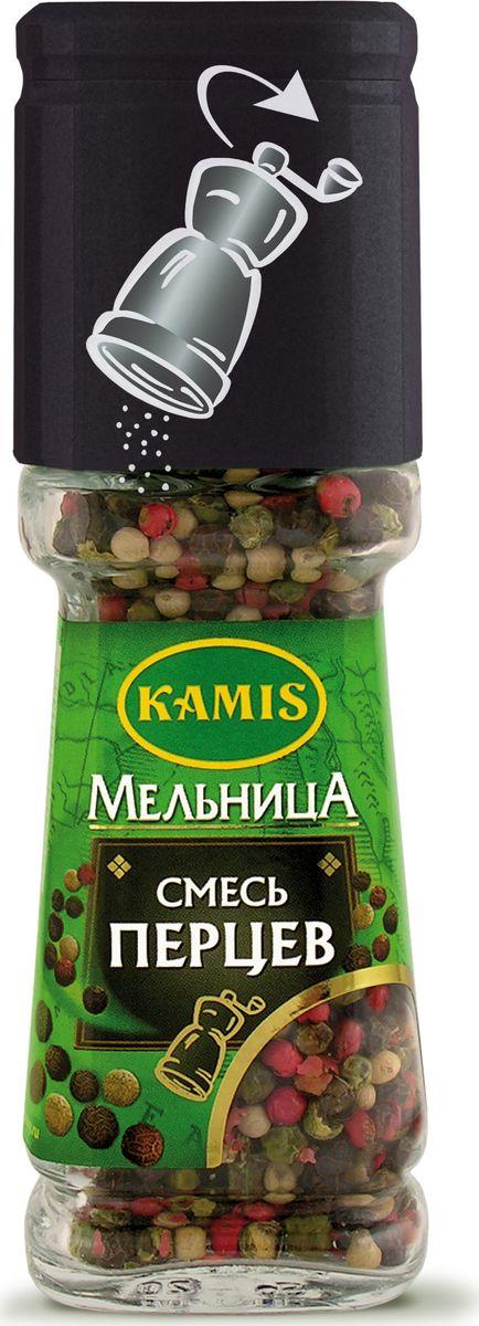 Фото Kamis мельница смесь перцев, 38 г. Купить  в РФ