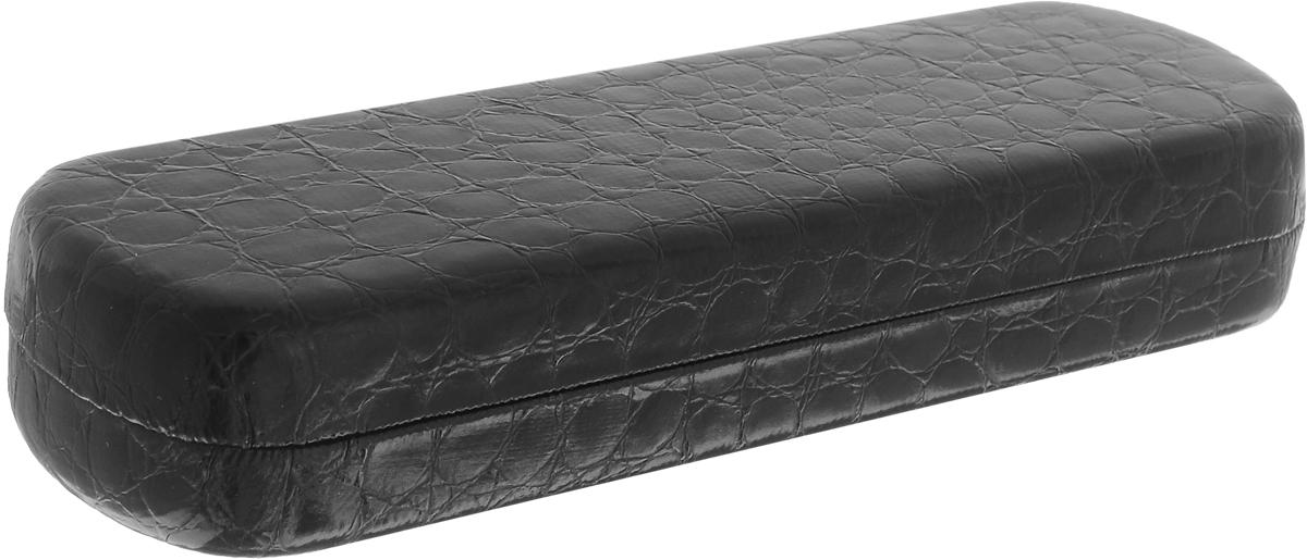 Фото Proffi Home Футляр для очков Fabia Monti, 4,5х16 см, цвет: рептилия черный. Купить  в РФ