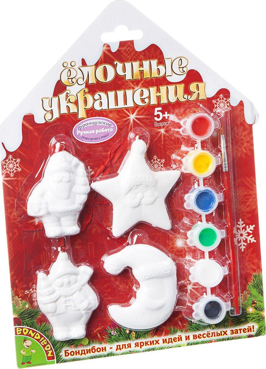 Фото Bondibon Набор для изготовления игрушек Ёлочные украшения ВВ1570. Купить  в РФ