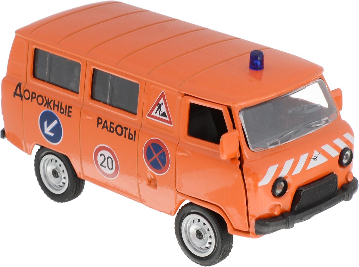 Фото Autotime Модель автомобиля UAZ 39625 Дорожные работы. Купить  в РФ