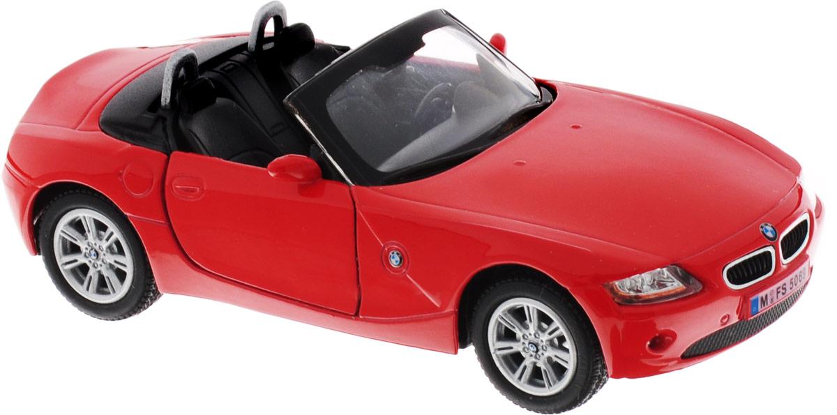 Фото Kinsmart Модель автомобиля BMW Z4 цвет красный. Купить  в РФ