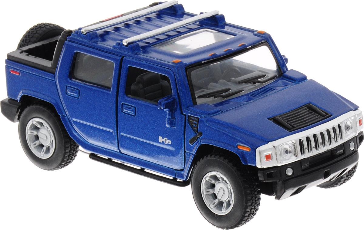 Фото Kinsmart Модель автомобиля Hummer H2 цвет синий. Купить  в РФ
