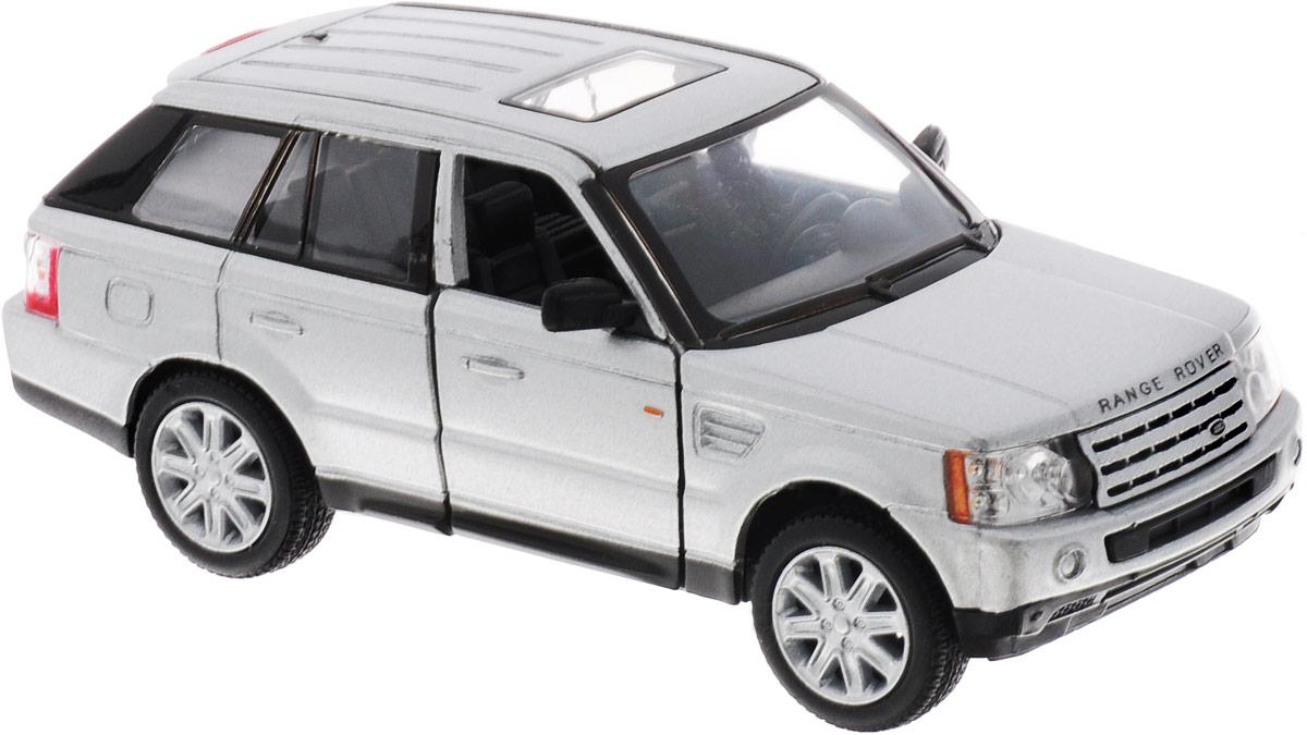 Фото Kinsmart Модель автомобиля Range Rover цвет серебристый. Купить  в РФ