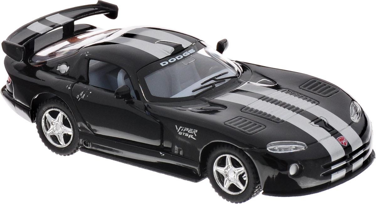Фото Kinsmart Модель автомобиля Dodge Viper GTSR цвет черный. Купить  в РФ