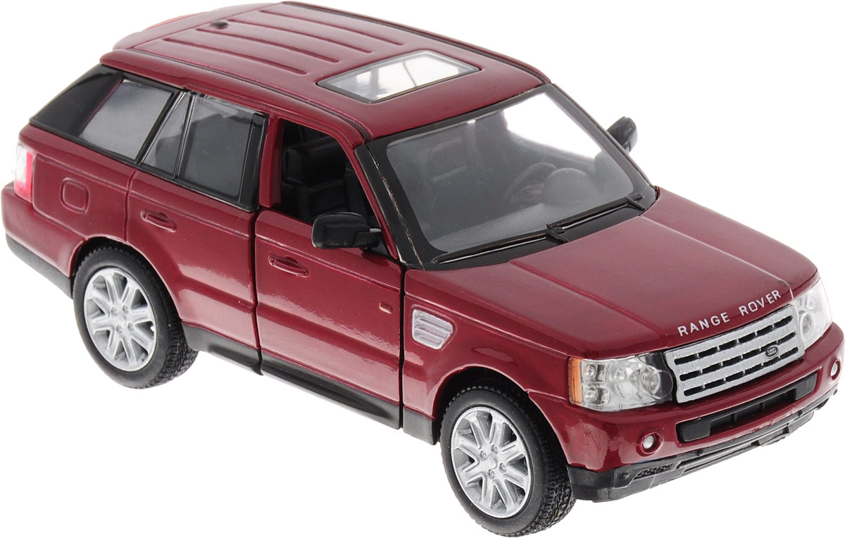 Фото Kinsmart Модель автомобиля Range Rover цвет красный. Купить  в РФ