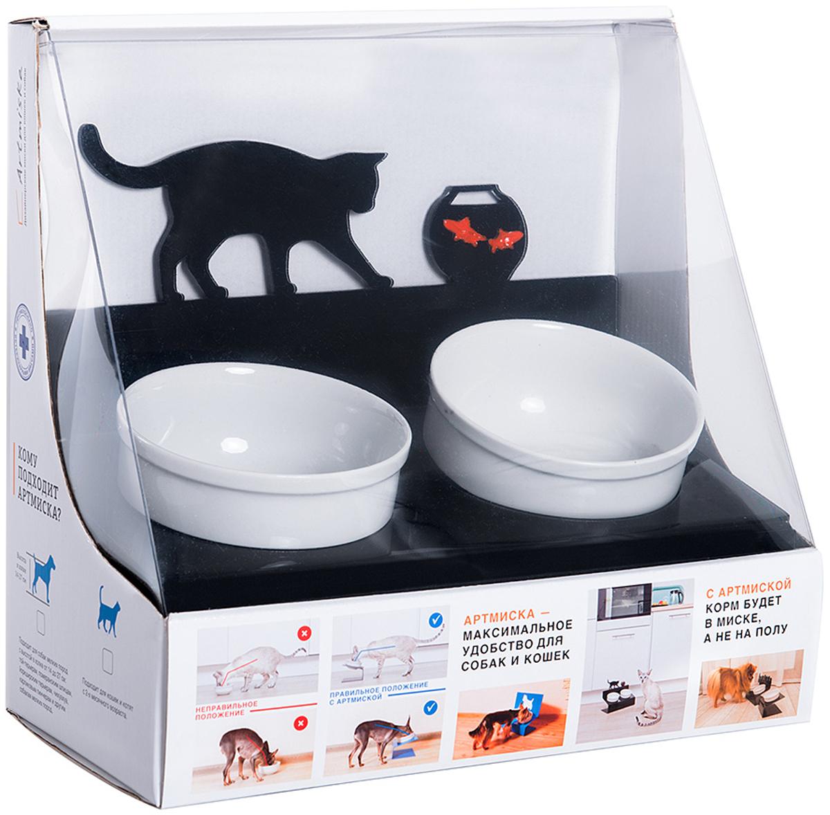Как сделать миску для кошки? Рыжий кот 35