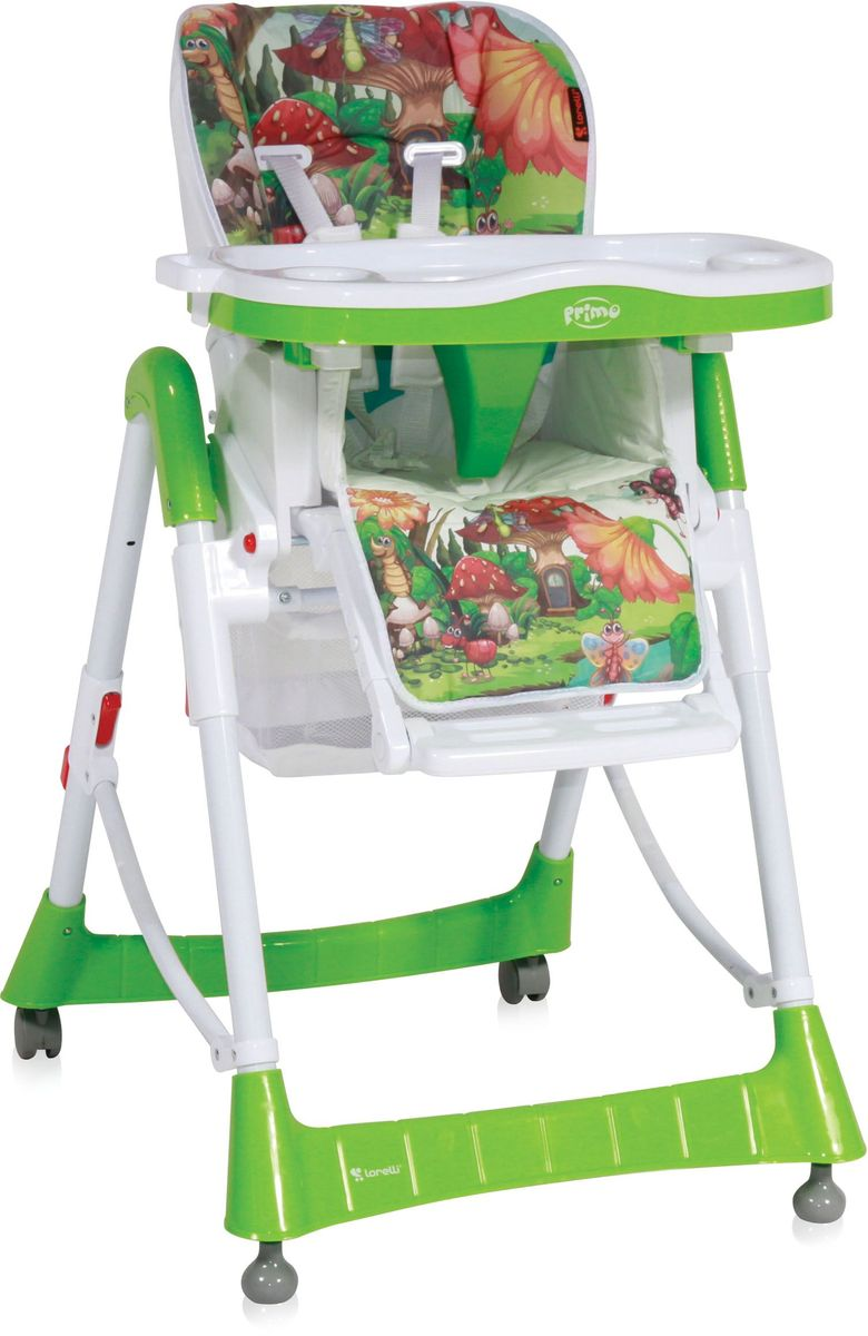 Lorelli Стульчик для кормления Primo зеленый 10100051721 -  Стульчики для кормления
