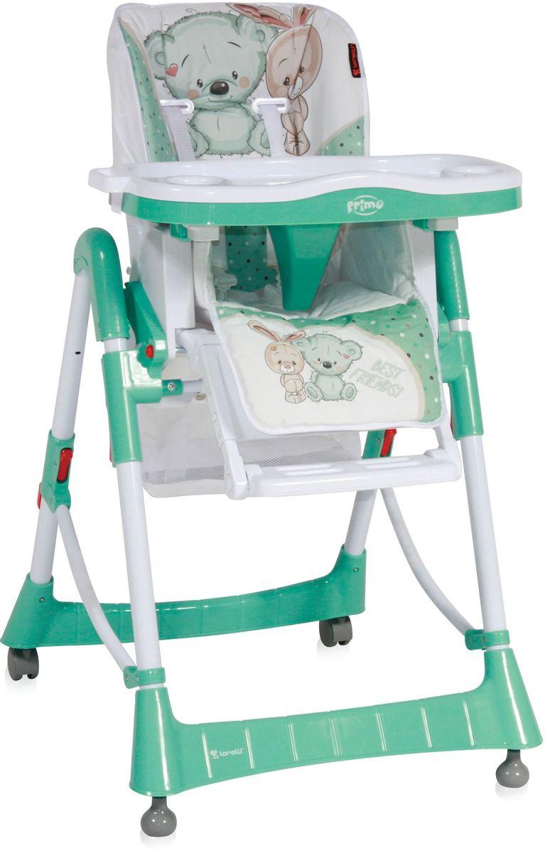 Lorelli Стульчик для кормления Primo зеленый белый 10100051722 -  Стульчики для кормления
