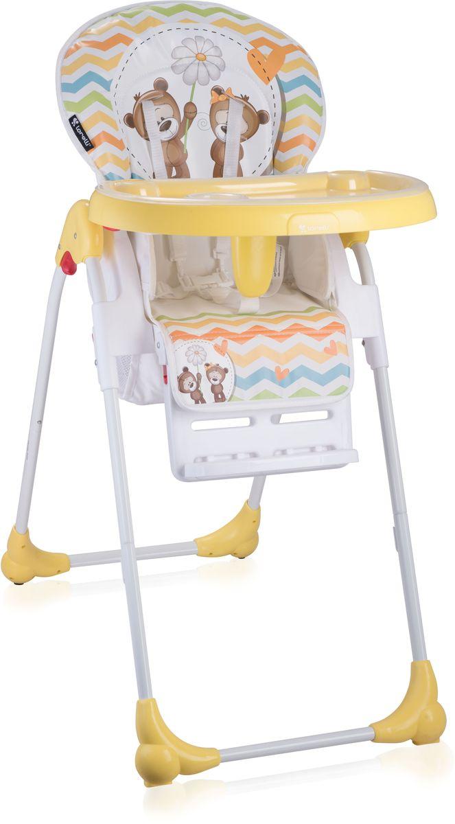 Lorelli Стульчик для кормления Oliver желтый 10100251717 -  Стульчики для кормления