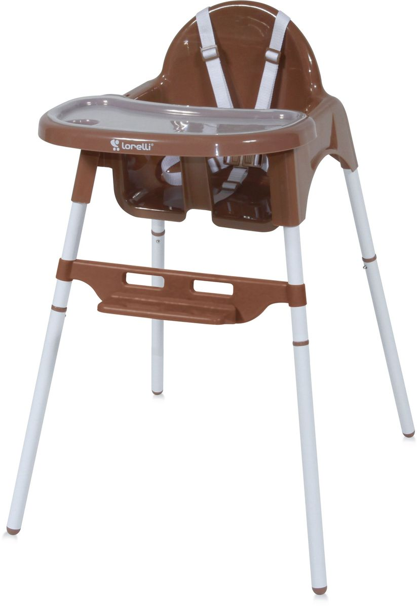 Lorelli Стульчик для кормления Amaro коричневый 10100293 -  Стульчики для кормления
