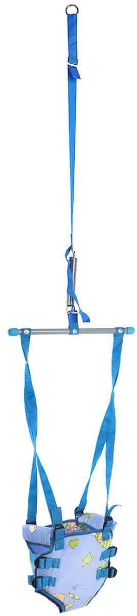 Фея Тренажер Прыгунки 2 в 1 цвет сиреневый синий зеленый -  Ходунки, прыгунки, качалки