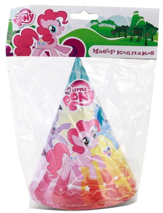 Веселый праздник Набор колпаков My Little Pony 6 шт -  Колпаки и шляпы