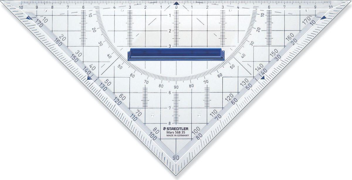 Staedtler Треугольник Mars 568 22 см -  Чертежные принадлежности