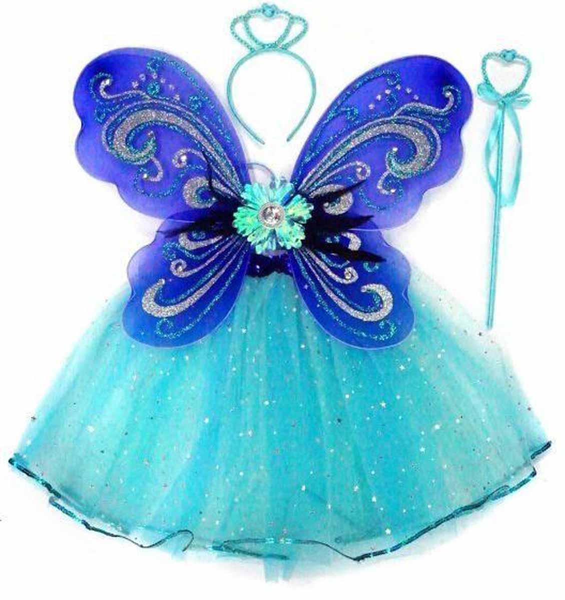 Новогодняя сказка Костюм карнавальный Снежная принцесса цвет голубой 973108 -  Карнавальные костюмы и аксессуары