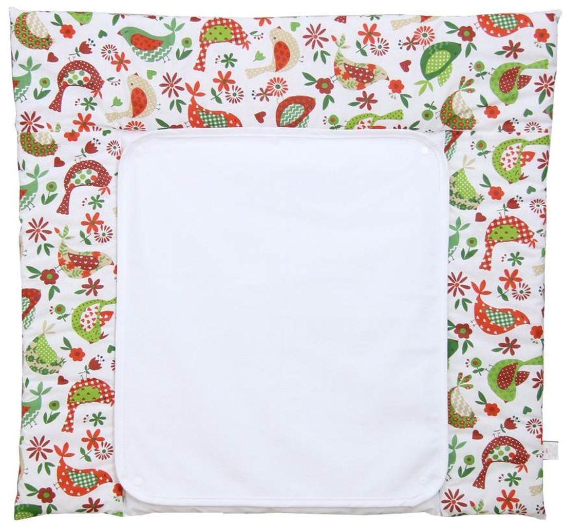 Polini Доска пеленальная со съемным вкладышем Кантри цвет белый зеленый -  Позиционеры, матрасы для пеленания