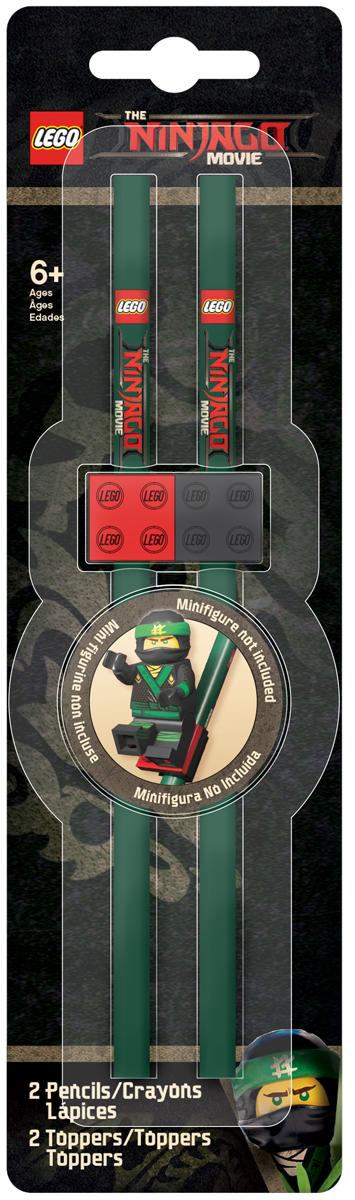 LEGO Набор карандашей Ninjago 2 шт -  Наборы письменных принадлежностей