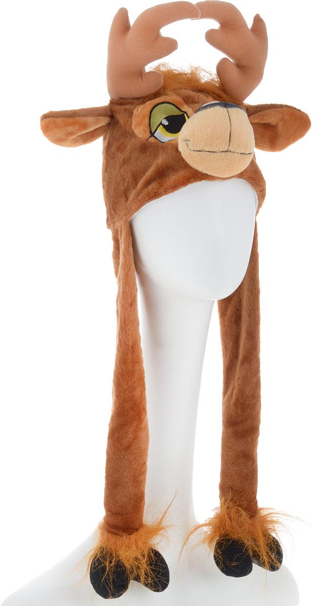 Карнавалия Карнавальный аксессуар для мальчика Олень цвет коричневый размер 54 -  Карнавальные костюмы и аксессуары