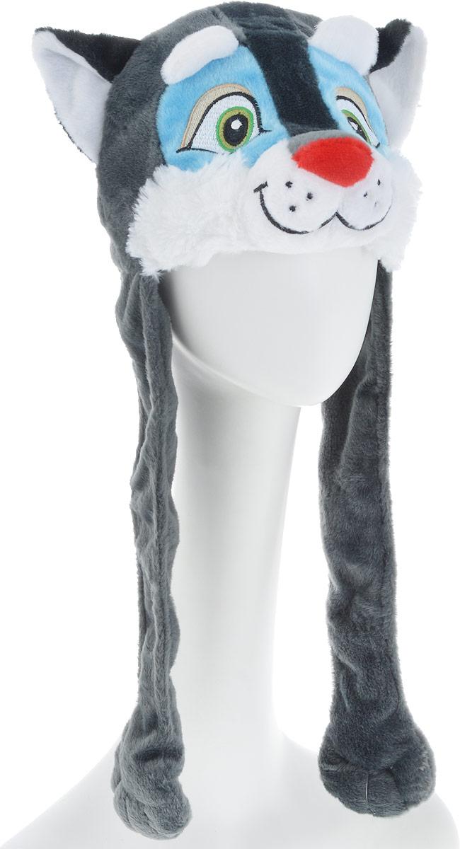 Карнавалия Карнавальный аксессуар для мальчикав Волчонок цвет серый размер 54 -  Карнавальные костюмы и аксессуары